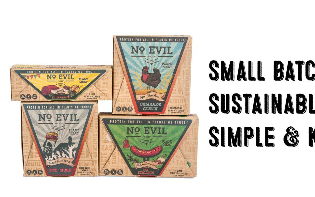 No Evil Foods Nabs a $50K NC IDEA Seed Grant